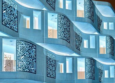 Andrew Prokos, 'Inverted - Masdar Facade #2', 2021
