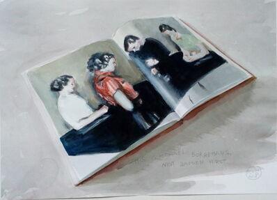 "Marta & Slava, 'This is Michaël Borremans, not Damien Hirst""', 2018"