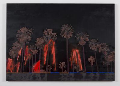 Whitney Bedford, 'Black Lala Land/ Red Fireworks', 2014