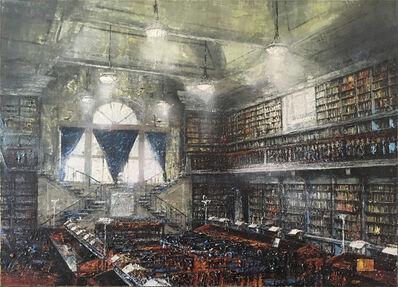 Massimo Giannoni, '(ATH) Firenze, Biblioteca Uffizzi', 2018