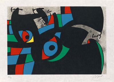 Joan Miró, 'Le Lezard Aux Plumes D'or[7]', 1971