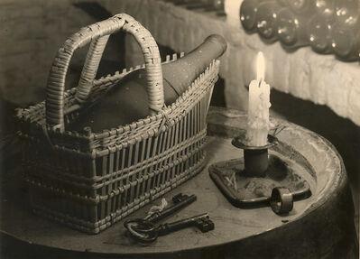 Alexis Delcroix, 'Une Bonne Bouteille (Still Life with Wine Bottle and Candle)', 1940s/1940s