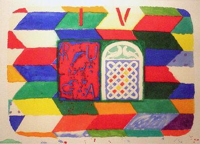 Joe Tilson, 'Stones of Venice, Sant' Alpio, Ruga', 2007