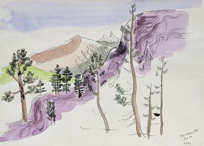 Lawrence Halprin, 'San Joaquin Mountain, August', 1956