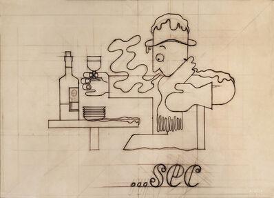A.M. Cassandre, 'Dubonnet....sec Original Drawing ', 1935
