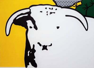 Roy Lichtenstein, 'Bull Head I', 1973