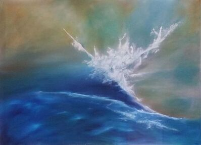 Fabienne Ribeyrolles, 'Bleu Mer du Sud', 2016