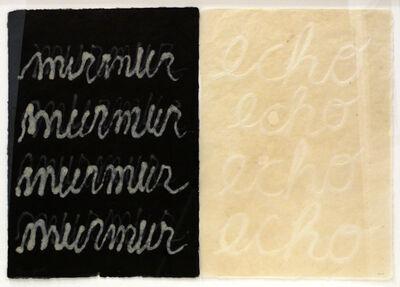 Buzz Spector, 'murmur/echo', 2011