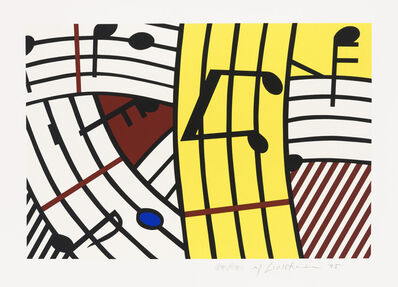 Roy Lichtenstein, 'Composition IV', 1995