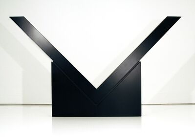 Ronald Bladen, 'V (Mid Scale)', 1973