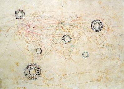 Irene Dubrovsky, 'Mapamundi / Sobrevuelos', 2017