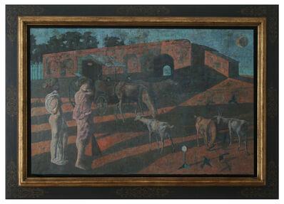 Armando Morales, 'Reve, voyageuses, chevres', 1999