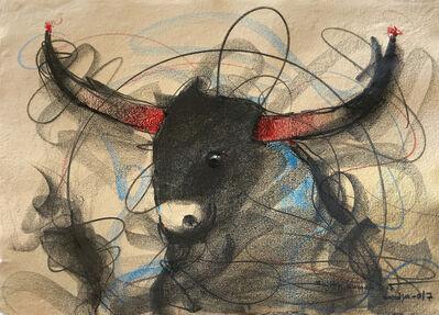 Sujth Kumar G.S. Mandya, 'Bull Drawing - 655', 2017