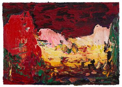Yin Zhaoyang 尹朝阳, 'Red cloud', 2018