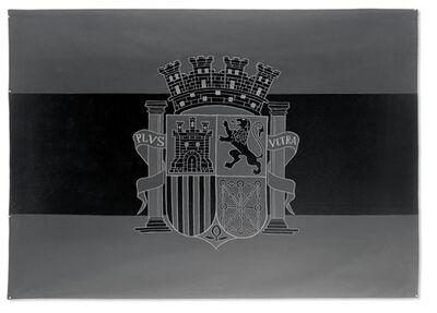 Santiago Sierra, 'Bandera Negra De La Republica Española', 2007