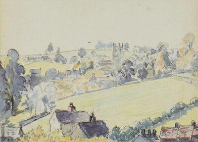 Lucien Pissarro, 'Wootton-under-Edge', 1920