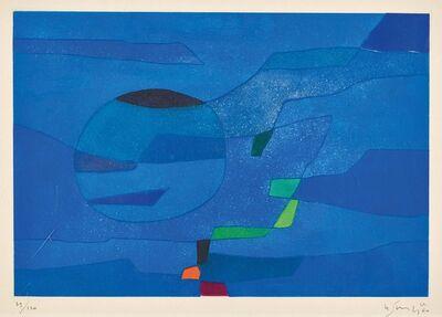 Gustave Singier, ' Jardin marin', 1960