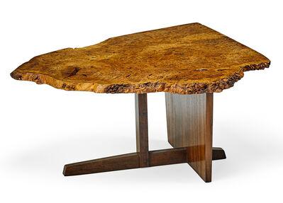 George Nakashima, 'Exceptional Minguren II end table, New Hope, PA', ca. 1968