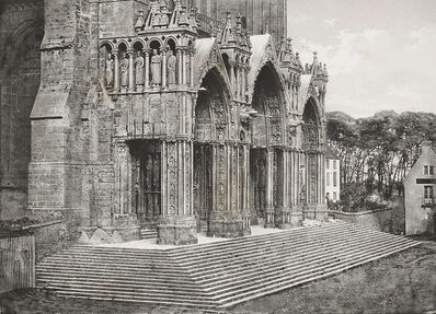 Charles Nègre, 'Porch of the South Transept, Chartres Cathedral', 1852c/1960s