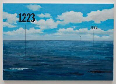 Oliver Jeffers, 'Fathom Seascape no. 7', 2015