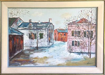 Truxton Hosley, 'Winter Homes', ca. 1970