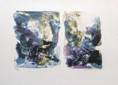 Zao Wou-Ki 趙無極, 'Untitled', 1970