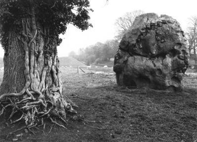 Paul Caponigro, 'Stone and Tree, Avebury, England', 1967