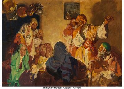 Haddon Sundblom, 'Arabian Storyteller'