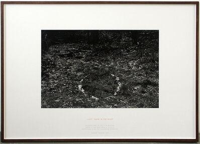 Richard Long, 'Light Snow in the Night', 1993