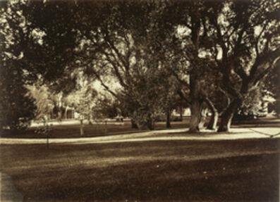 Carleton E. Watkins, 'Thurlow Lodge - Lawn View', 1874
