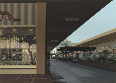 Richard Estes, 'Lakewood Mall, from the Urban Landscapes III portfolio', 1981