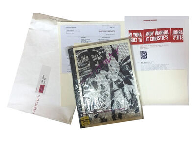 "Andy Warhol, 'Andy WARHOL's Personal Copy of the ""INDEX BOOK"", 1967, Warhol Estate, Christies Factory Sale 2016, First Edition, Hard Cover, with Original Plastic Wrap (Historic & RARE)', 1967"