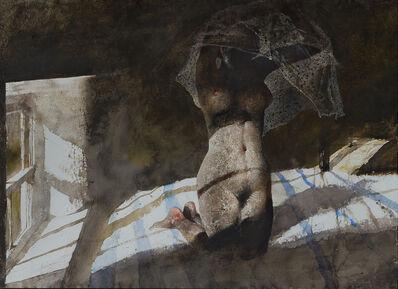 Andrew Wyeth, 'Winfields (first version of Heat Lightning)', 1977