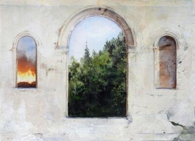 Carol Pylant, 'Arched Inferno', 2017