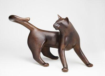 Gwynn Murrill, 'Circle Cat 3/9'