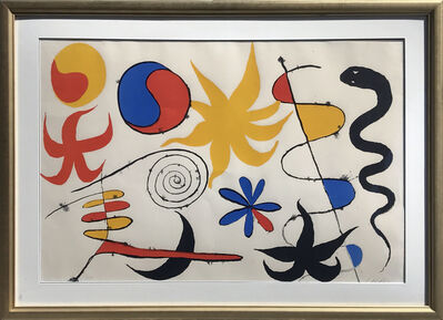 Alexander Calder, 'Serpent in the Stars', 1960