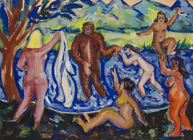 Kirill Zdanevich, 'Bathers', ca. 1960