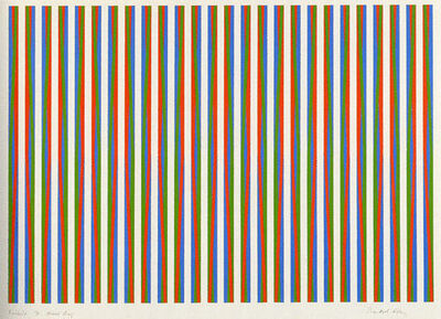 Bridget Riley, 'Firebird', 1971