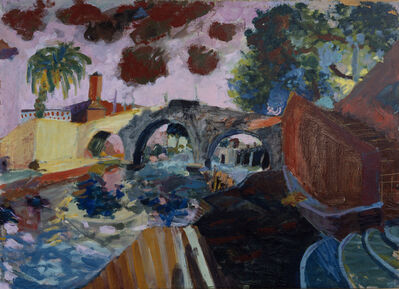 Younghee Choi Martin, 'Il Ponte Sisto', 1976