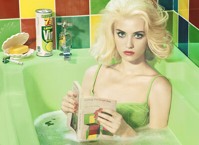 Miles Aldridge, 'Circling the Small Ads (After Miller)', 2017