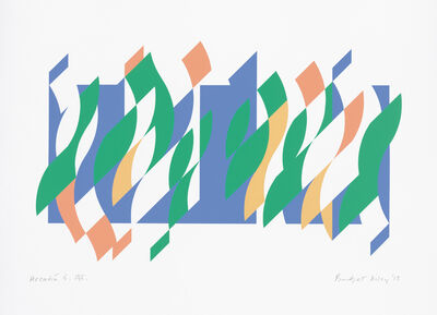 Bridget Riley, 'Arcadia 5', 2013