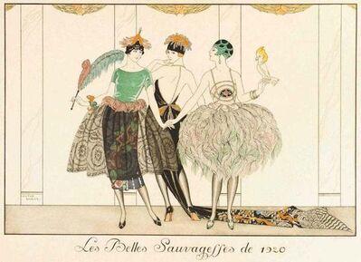 George Barbier, 'Les Belles Sauvagesses de 1920', 1920
