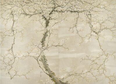 Huh Dal Jae, 'White Plum Blossom', 2018