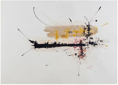 Georges Mathieu, 'Untitled', 1963