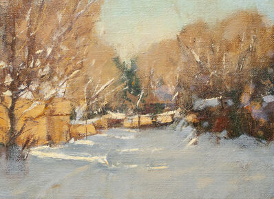 Irby Graves Brown, 'Snowy Street Study', Unknown