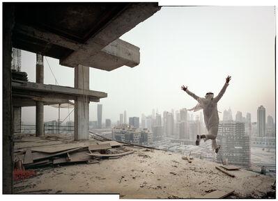 Richard Allenby-Pratt, 'Vertigo (jumping man)', 2015