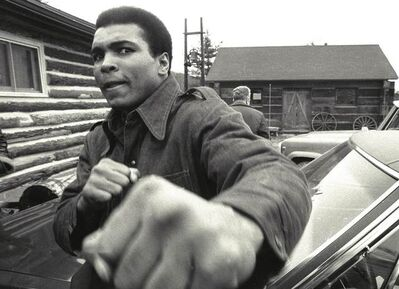 Chris Smith, 'Ali Throws a Punch', 1970s