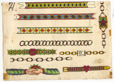 Rosie Camanga, 'Untitled (Wrist Bands)', ca. 1950