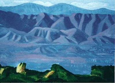 David Hockney, 'The Valley', 1990