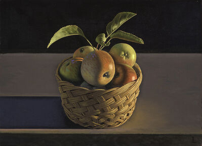 David Ligare, 'Still Life with Apples and Basket', 2014